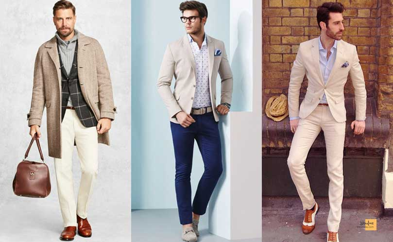 How to Combine Clothes to Look Good ? - Amazing Secrets Tips For You Colors to combine with Beige Clothes