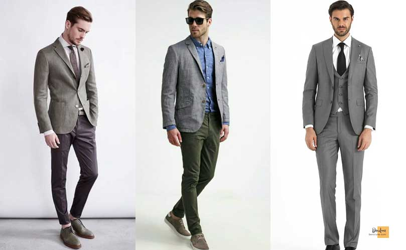 How to Combine Clothes to Look Good ? - Amazing Secrets Tips For You Colors to combine with Gray Clothes