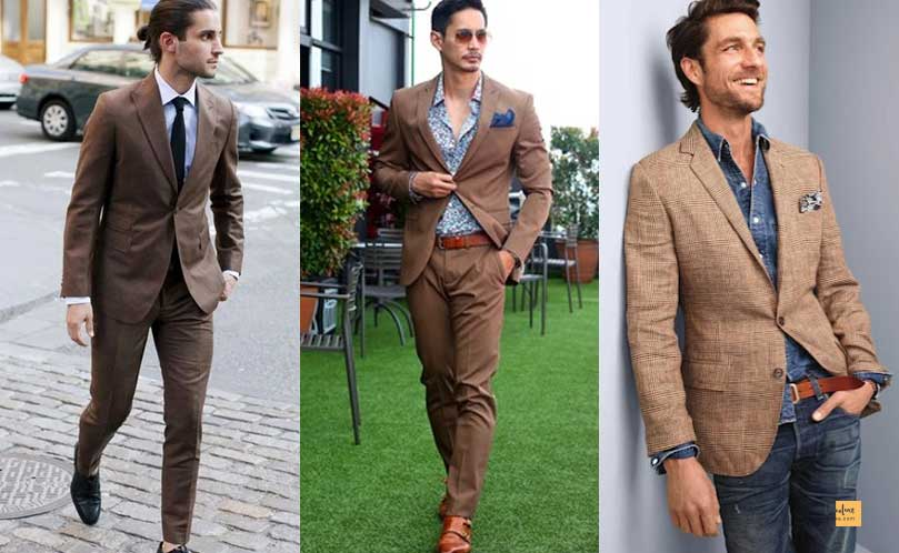 How to Combine Clothes to Look Good ? - Amazing Secrets Tips For You Colors to combine with Brown Clothes
