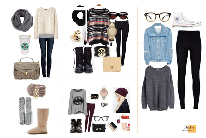 How To Dress Well as a Teenage Girl   Secret Guide You Should Know Winter outfit ideas for teenager girls Outfit Ideas To Dress well as a Teenage Girl