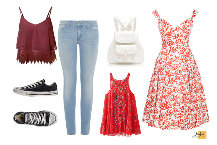 How To Dress Well as a Teenage Girl   Secret Guide You Should Know Summer outfit ideas for teenage girls Outfit Ideas To Dress well as a Teenage Girl