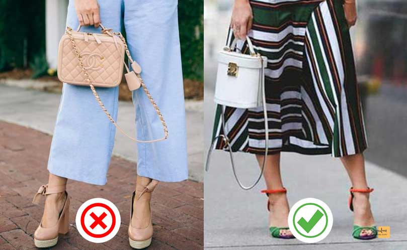Forget the rule that states your handbag must be the same colour as your shoes devoluxe.com Benefits of Wearing Fashion Accessories And 10 Rules You Should Know