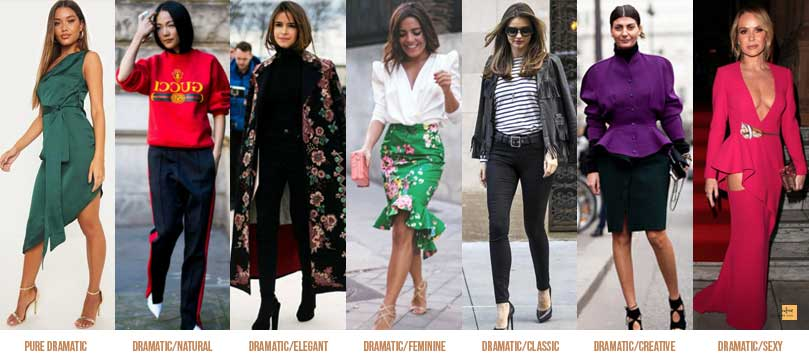 Dramatic style personality Can Clothes Define a Person's Character?