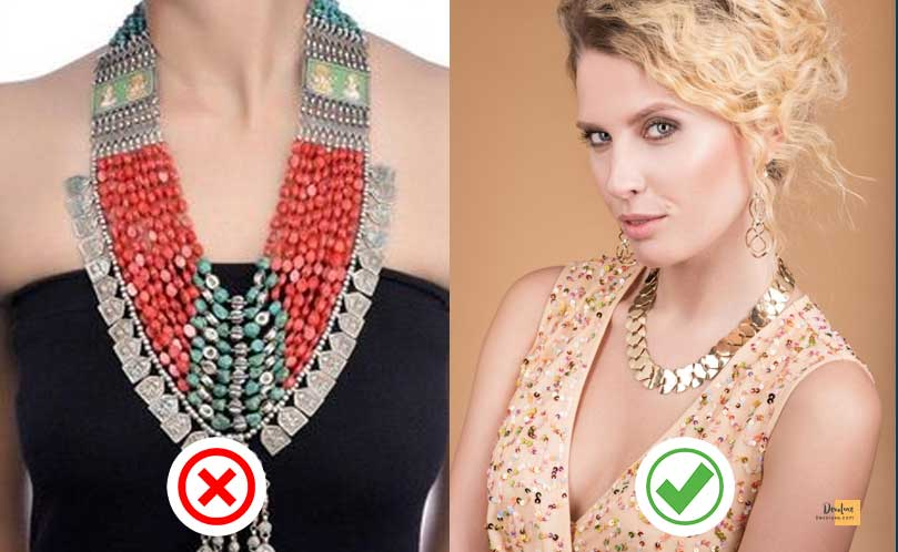 Only use a full set of matching jewelry if the items are small in size devoluxe.com Benefits of Wearing Fashion Accessories And 10 Rules You Should Know