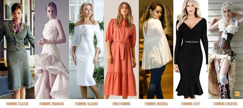Feminine style personality Can Clothes Define a Person's Character?