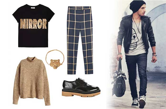 Rebellious Style t shirt boys bag shoes  What does my style say about me, And How to find your personal style? Rebellious Style