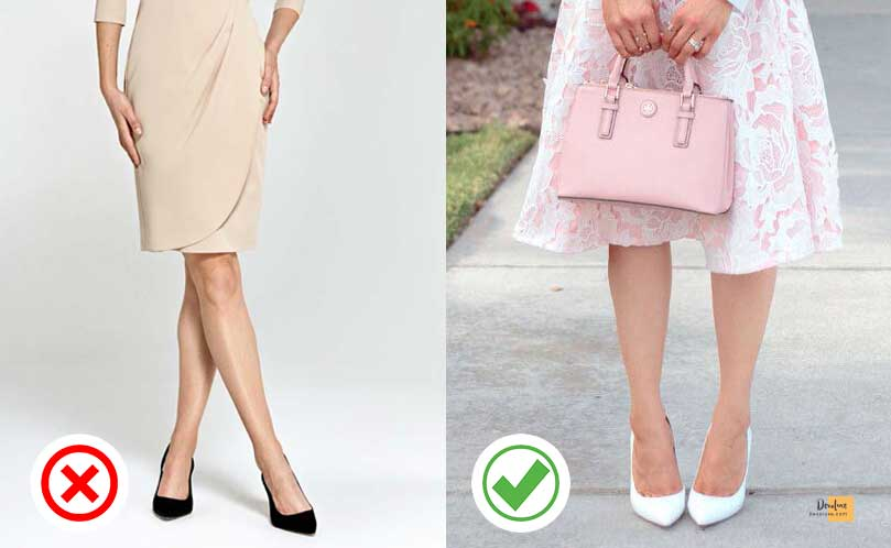 Avoid black footwear if you're wearing pastel tones devoluxe.com Benefits of Wearing Fashion Accessories And 10 Rules You Should Know
